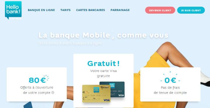 avis Hello Bank une banque mobile