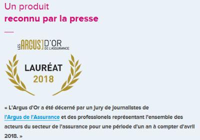 assurance Boursorama Banque prix Argus 2018