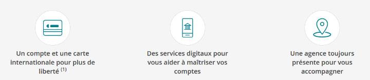 les services liés au compte bancaire EKO