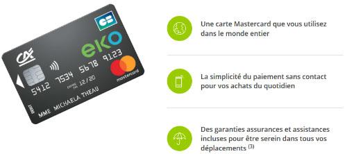 EKO Mastercard Internationale Avantages